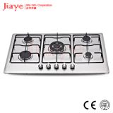 Jiaye Group Stainless steel gas hob/86cm kitchen gas stove/Built in 5 burner gas cooker JY-S5084