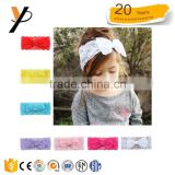 7PCS Girl Baby sweat Head band Toddler Lace Bow Flower Hair Band Accessories