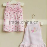 mom and bab 2012 summer baby clothes 100% cotton girls dress