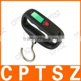 WH-14A 50kg/10g Hand Held Portable Hanging Hook Digital Travle Luggage Digital Weighing Scale