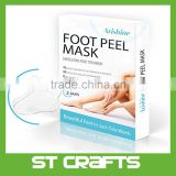 Foot exfoliating peel mask Effective Purederm peeling Gel exfoliant, Amazing SPA for Baby Soft Feet One Pack Contain 2 pairs