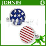 high quality American flag men's office wholesale cufflinks usa flag