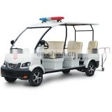 CE Approved 6 Seats Golf Carts Emergency Electric Ambulance Car