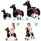 HI CE Best price remote control mechanical ride on horse rocking riding horses toy for adults