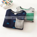 Custom children sweatshirt fleece fabric new hoodies/sweatshirts print for boys
