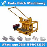 www.linyibrickmachine.com QM4-45 diesel engine movable egg laying concrete block machine