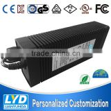 Single output 301 - 400W ac dc switching power supply 24v 15a power adapter with CE ROHS FCC