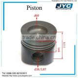 Diesel engine spare parts YC6108G Forged piston prices
