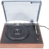 Simple Style!!! DS-2018: Retro Turntable&Karaoke Player with PC Recording/RCA Stereo Outputs/3 Speed