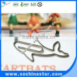 Fancy beautiful animal shapes paper clips stainless steel flat clips