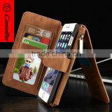 CaseMe Brand Luxury Leather Mobile Case for iPhone 6 plus, for iPhone 6 Plus Phone Cover Private Label