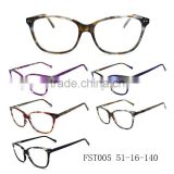 super thin and Wholesale Fashion Acetate Eyewear Glasses and newest trendy optical frame