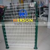 senke PVC coated weld mesh panel fence for perimeter security