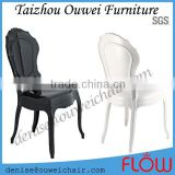 beautiful transparent polycarbonate Belle Epoque Dining Chair