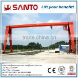 Reasonable price remote pendent cabin control Single girder gantry crane 5 ton 10 ton 20 ton with limit switch overload protect