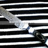 "udk h72"" custom handmade Damascus hunting knife / TANTO knife with sheet handle"