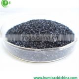 Higher water soluble organic fertilizer potassium humate flakes organic fertilizer from natural Leonardite/Lignite