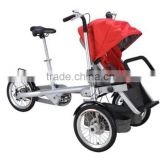 Mother Baby Bicycle Trailer Like TAGA Bike With Family Use