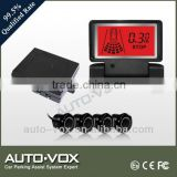 good quality parking sensor for peugeot with LCD display with 4 sensors