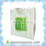 100% Biodegradable bamboo fabric reusable bamboo tote bag