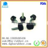 rubber/silicone Automobile Part,rubber buffer/bumper/feet with screw,protection,durable