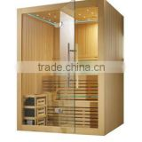 Monalisa Hot sale Sauna room M-6030 Steam sauna, with LED ceiling