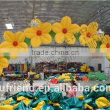 High-quality environmentally friendly materials for commercial inflatable arch inflatable rainbow arch