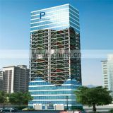 elevator type car parking tower system vertical tower car parking hot rise motor tower parking
