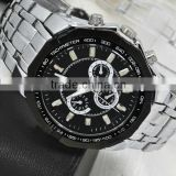 mens stainless steel quartz goldlis curren watch                                                                         Quality Choice