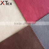 latest design flame retardant faux suede sofa fabric with multi-color avaliable, upholstery fabric buy direct from china factory