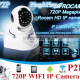 New arrive 1.0 Megapixel Wireless IP Camera Wifi 720P Pan/Tilt 32GB Micro SD Card Slot and IR Cut 720P Mini P2P IP Camera Wifi