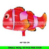 Wholesale All Kinds of Mylar Foil Fish Shaped Balloons