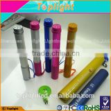 electric rechargeable led flash light torch light RGB