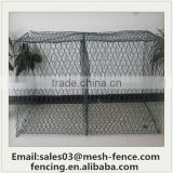 Welded Square Gabion Box can loaded stones/hot dipped galvaniazed weled wire mesh gabion/ china factory supply