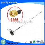 China Factory high gain low price GSM 3G Modem magnetic Antenna with SMA/TS9/CRC9 connector