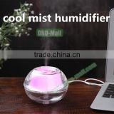 China Market cool mist humidifier LED, Mini USB Desktop Air Humidifier Purifier                                                                         Quality Choice