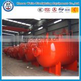 3000L carbon steel foam bladder tank,foam liquid tank factory