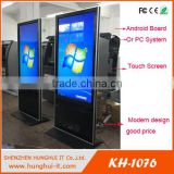 HD Digital Signage Touch Screen wifi/3G/Android/internet LCD or LED Shopping mall advertising kiosk/ Advertising Display