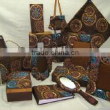 Designer Embroidered Handmade Beaded Fabric Photo Frame ~ Box ~Jewelery Boxes ~ Note Book~ Ladies Coin Purse