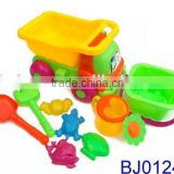 Toy factory price beach toy for kids with dump truck hand shower