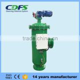 300-4000 micron time/pressure differential/ manual control wastewater self cleaning filter