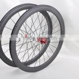 nice and popular front /rear carbon 700c wheel 50mm 3k/ud matte or glossy finish for road bike with promotion