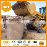 welded gabion military sand barrier hesco security wall
