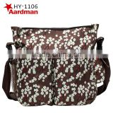 Wholesale Multi-Function Fashion lovely Casual Love stroller clips Baby Nappy Diaper Bags for Young Mummy +Free Shipping HY-1106