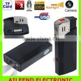 HD 1080P Hidden Camera Lighter , with Highlighted Real Flashlight Lighter Camera