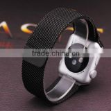 For apple watch strap with connectors, For apple watch band black color luxury design