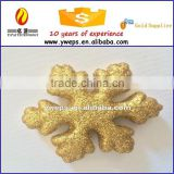 YIWU sale hot wholesale glitter colorful snow flake/polyfoam colorful glitter craft snow flake