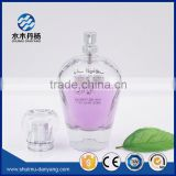 Luxury 100ml glass perfume bottle with silver spray                                                                                                         Supplier's Choice