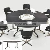 Movable Folding round conference tables ( NH2603 )