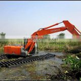 2014 NEW!! HITACHI Swamp Excavator, HITACHI Amphibious Excavator for sale, Model: JYSL-85